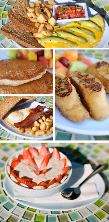 Rachel's Kitchen Breakfast
